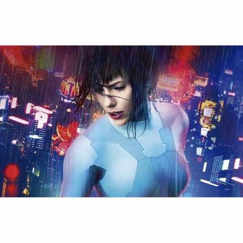 Win a Samsung TV with Ghost in the Shell