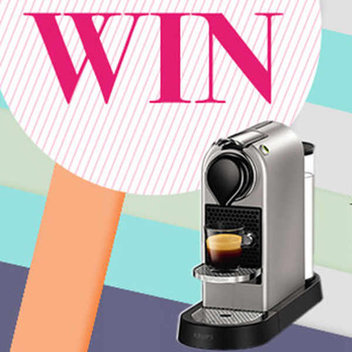 Win 1 of 5 Nespresso coffee machines
