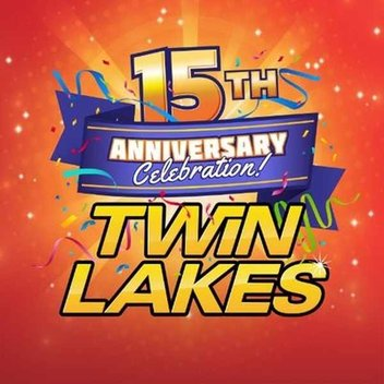 Celebrate 15 Years of at Twinlakes with fantastic prizes