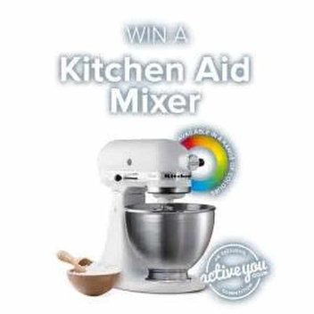 Win a Kitchen Aid Mixer with Active You
