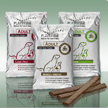 Have your dog try out PLATINUM dog food for free