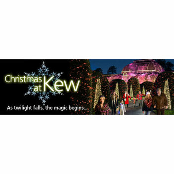 50 free family tickets for a Christmas at Kew