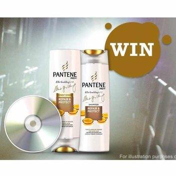 Free Pantene Shampoo & Conditioner & signed Ellie Goulding CD
