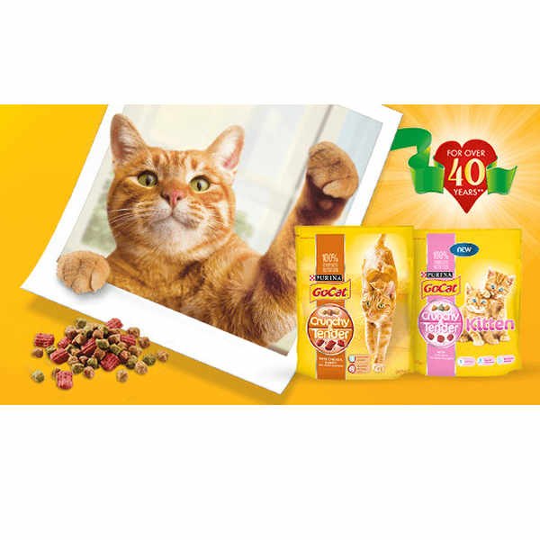 Free Go-Cat® Crunchy & Tender samples