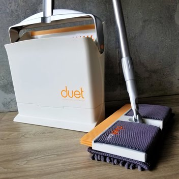 Try the new duet microfibre mop for free