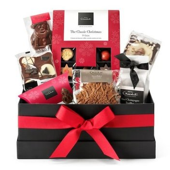 Take home a free Hotel Chocolat hamper this Christmas