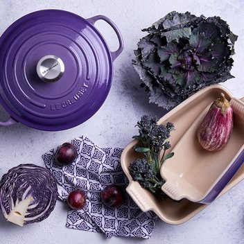 Win £300 of Le Creuset Ultraviolet