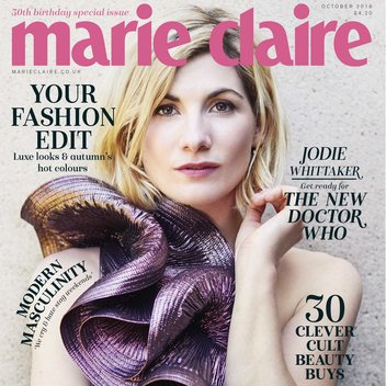 Pick up a free issue of Marie Claire