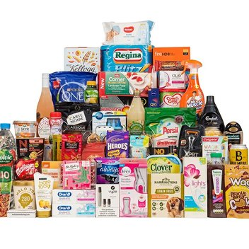 Grab a free Product of the Year goody bag