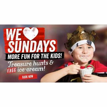 Treat your kids to a free sundae this Sunday