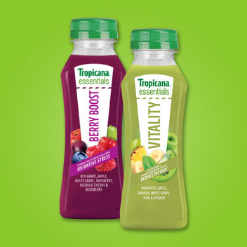 Pick up a free bottle of Tropicana Essentials
