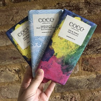 Try out Gin & Tonic Coco Chocolate bars for free