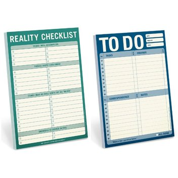 Claim a free Knock Knock Checklist Notepad