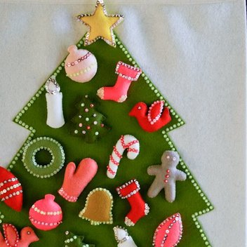 Free felt advent calendars