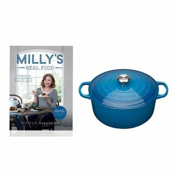Win a copy of Milly's Real Food and a Le Creuset Casserole worth £220