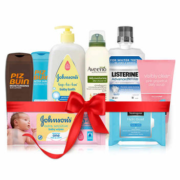 Get a free hamper of Johnson & Johnson products