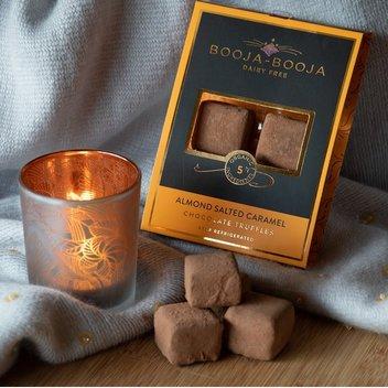Indulge in a selection of Booja-Booja chocolates