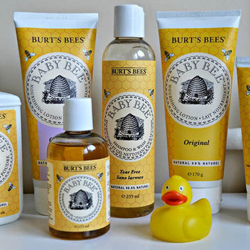 Free Burt's Bees Baby Products