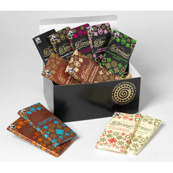 Celebrate Chocolate Week with a chocolate hamper from Divine