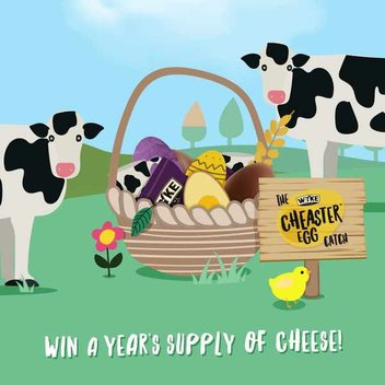 Claim a Cheesy Cheaster prize