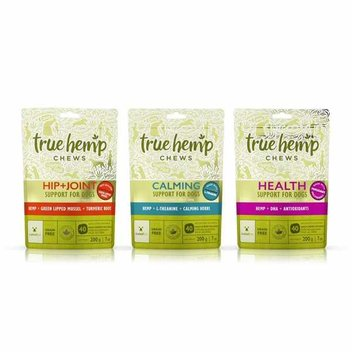 Free bag of True Hemp Treats for your dog