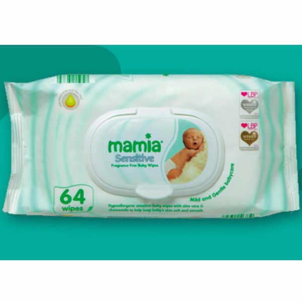 Free Mamia Baby Wipes this February