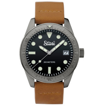 Get your hands on a free Szanto Vintage Dive Watch
