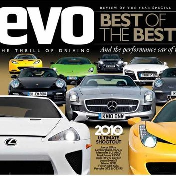Free issue of Evo Driving Magazine