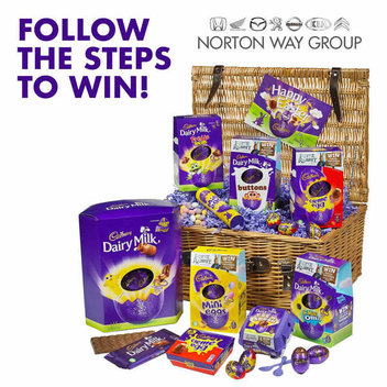 Indulge in a luxury Cadbury's Easter Egg Hamper