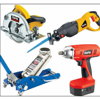 Win £500 worth of Clarke power tools and equipment from Machine Mart