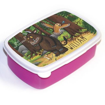Grab a free Gruffalo & Owl personalised lunch box