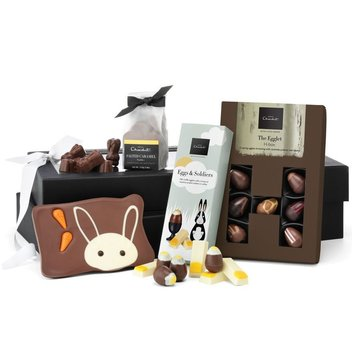 Have a free Happy Easter Hamper by Hotel Chocolat