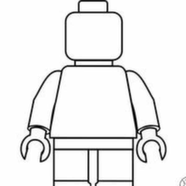 Free LEGO Mini Fig Printable for Kids