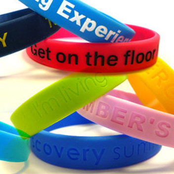 Free Silicone Wristbands