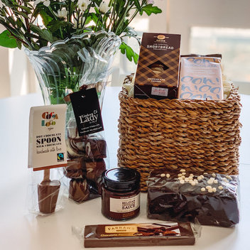 "Delight in a delicious Yumbles ""For the Love of Chocolate"" Hamper"