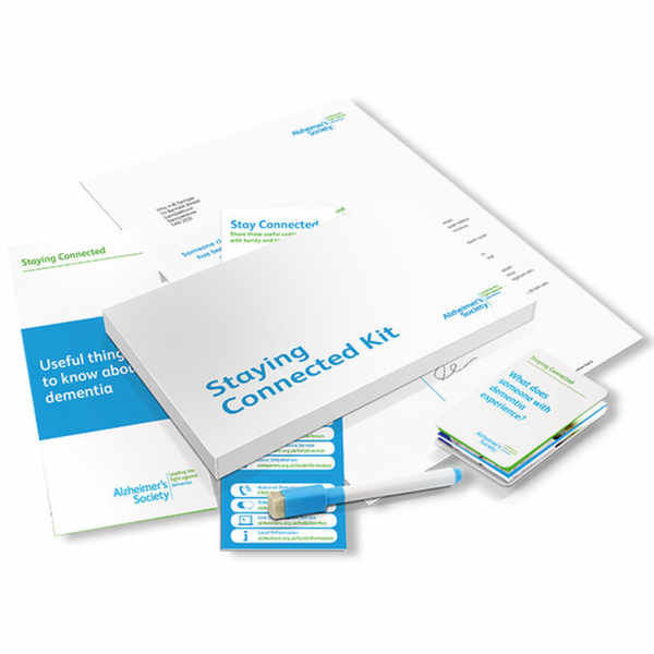 Get your Staying Connected Kit from Alzheimer's Society