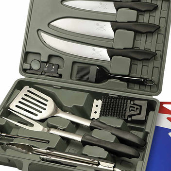 Score a free BBQ set this Summer
