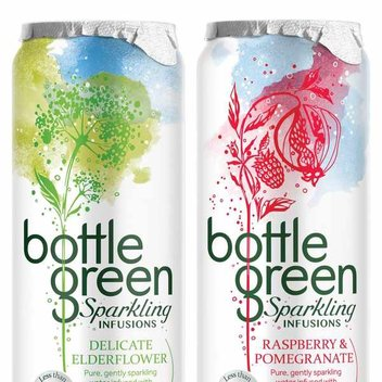 Free cans of Bottle Green