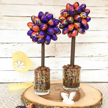 Munch on a free Personalised Creme Egg Sweet Tree