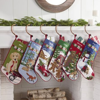15 personalised Christmas stockings to be claimed