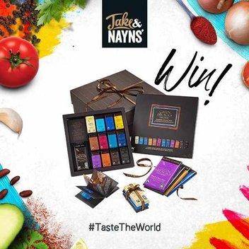Win a Jake & Nayns chocolate hamper