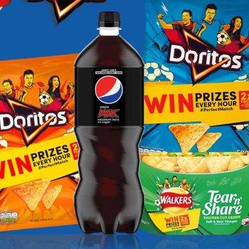 20,000 free Doritos, Walkers & Pepsi prizes