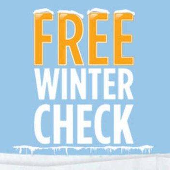 Free 5 point Winter Check for your car at Halfords