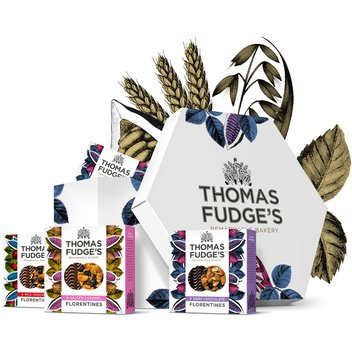 Enjoy a free Thomas Fudge's gift box