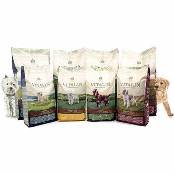 Free Vitalin dog food sample