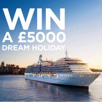 Go on a £5,000 dream holiday
