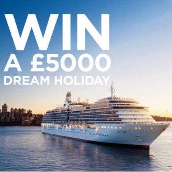 Go on a £5,000 dream holiday