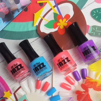 Score a free set of All That Jazz's The Caribbean nail polish Collection