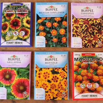 Receive a free packet of Nectar Flower Seeds