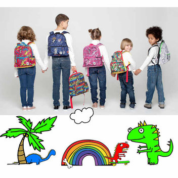 Free Zip and Zoe bags for kids